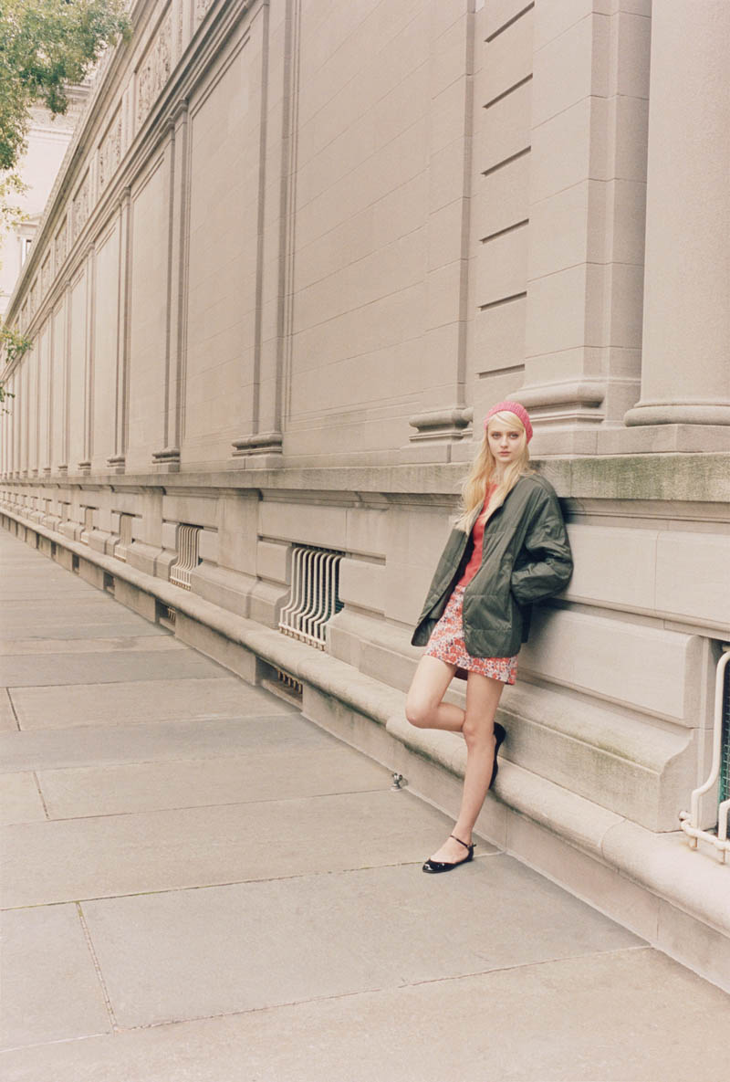ClubMonaco5 Nastya Kusakina Hits the New York City Streets for Club Monacos Spring 2013 Campaign