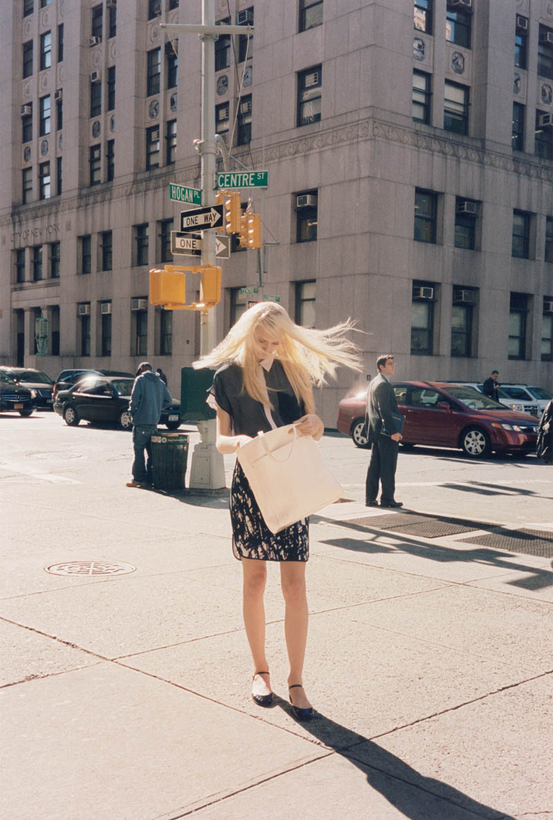 ClubMonaco8 Nastya Kusakina Hits the New York City Streets for Club Monacos Spring 2013 Campaign