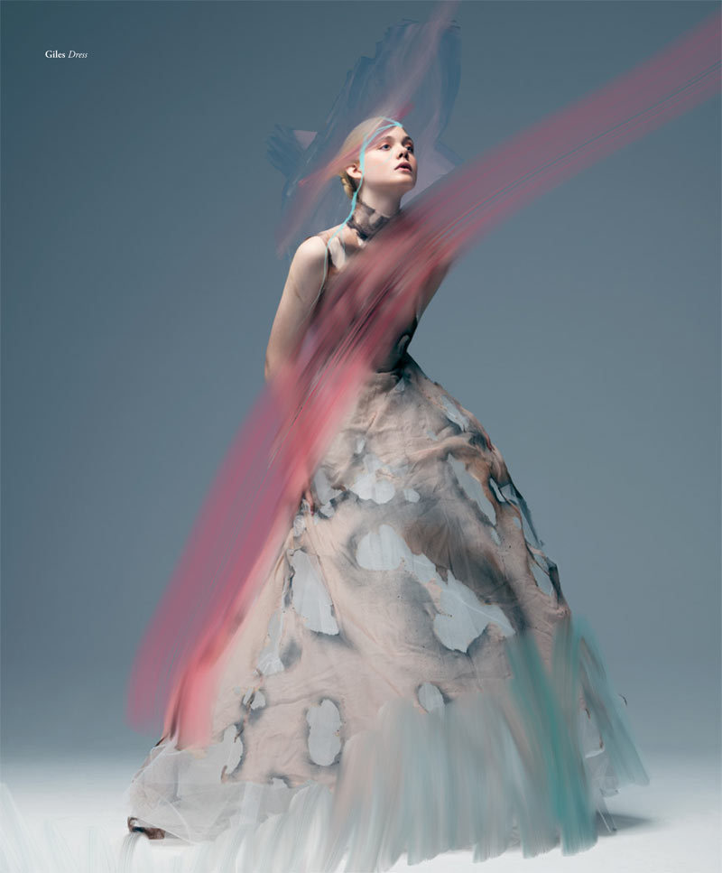 ElleBullet2 Elle Fanning Gets Surreal for Bullett Magazines Winter 2012 Cover Shoot