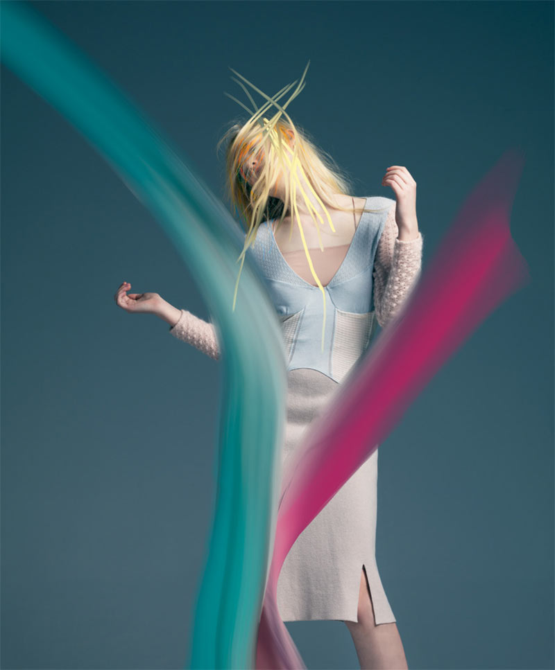 ElleBullet5 Elle Fanning Gets Surreal for Bullett Magazines Winter 2012 Cover Shoot