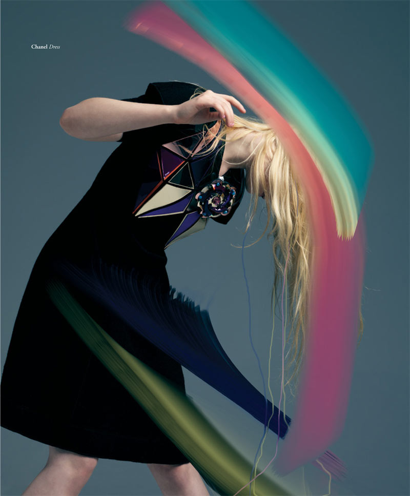 ElleBullet6 Elle Fanning Gets Surreal for Bullett Magazines Winter 2012 Cover Shoot
