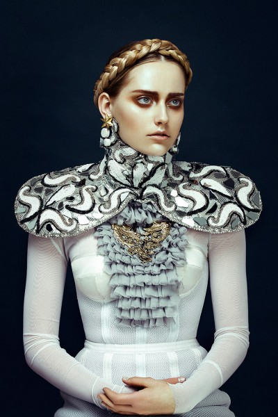 Zhang Jingna Captures Aristocratic Beauty for Harper's Bazaar Vietnam