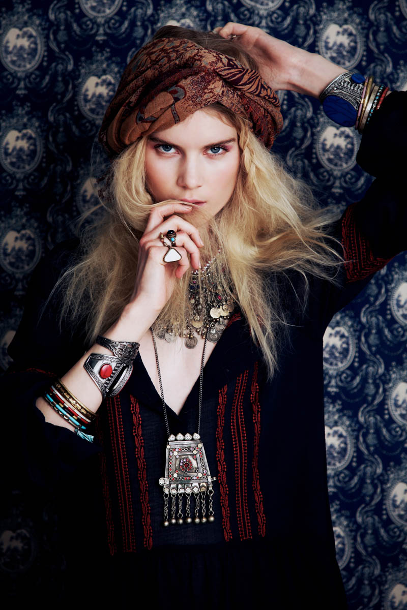 FreePeople1 Elsa Sylvan Has Wanderlust for Free Peoples December Lookbook