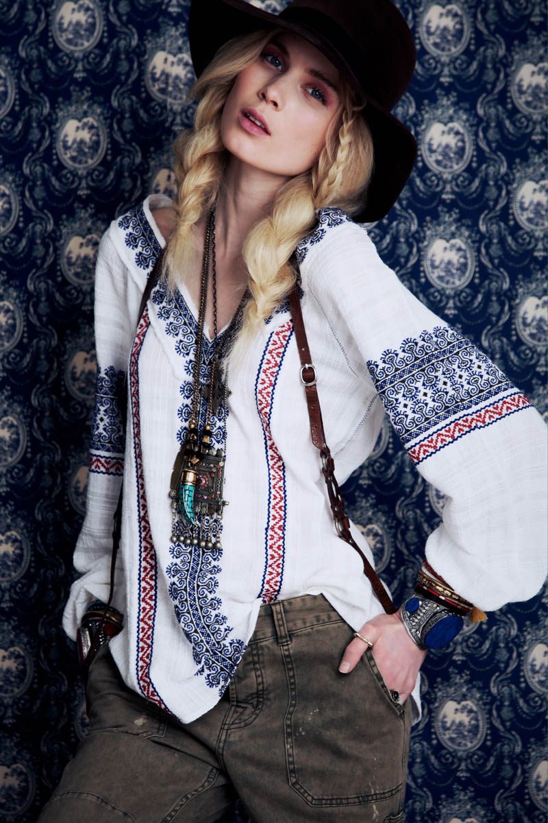 FreePeople10 Elsa Sylvan Has Wanderlust for Free Peoples December Lookbook