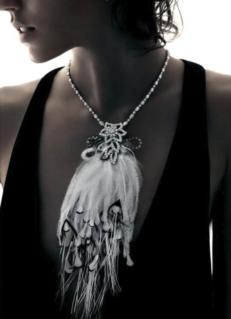 Freja Beha Erichsen Shines in Harry Winston's Holiday 2012 Campaign by Patrick Demarchelier