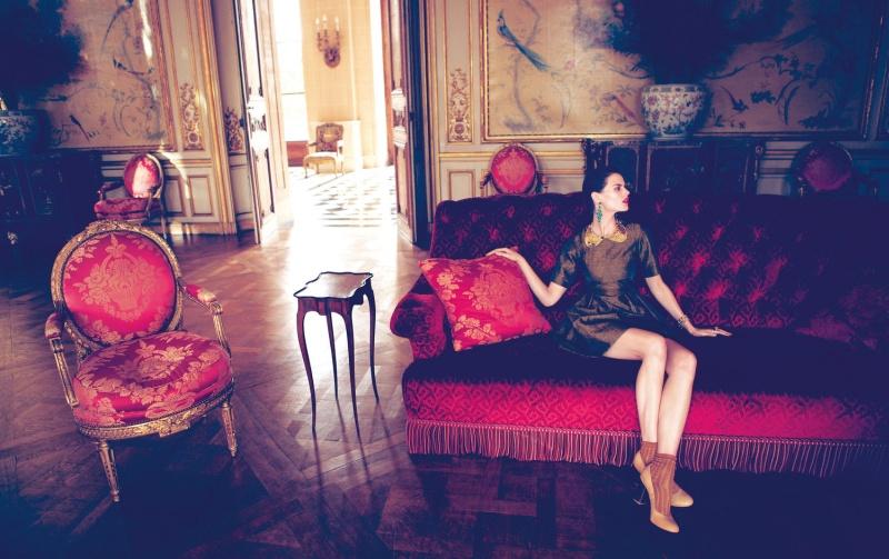 HMArkans6 Saskia de Brauw, Toni Garrn and Magdalena Frackowiak Star in H&M Magazine Winter 2012 by Camilla Akrans