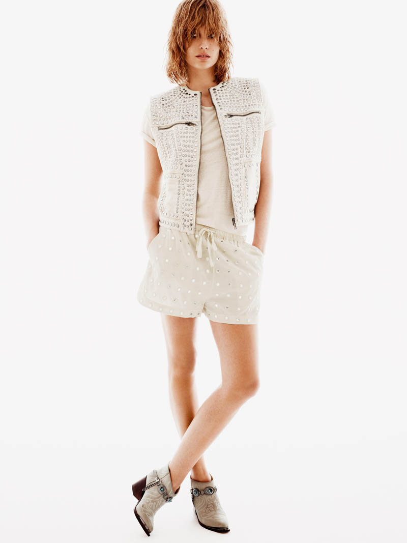 HMNadja12 H&M Enlists Nadja Bender for its Spring 2013 Lookbook
