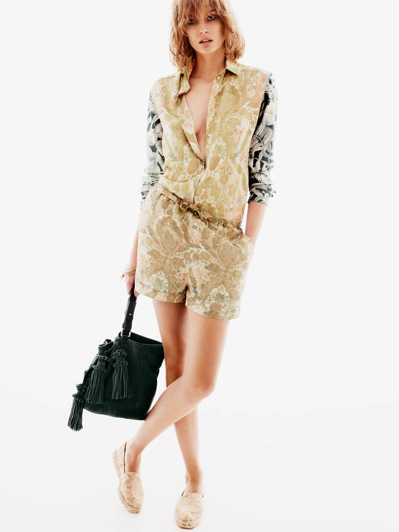 HMNadja9 H&M Enlists Nadja Bender for its Spring 2013 Lookbook