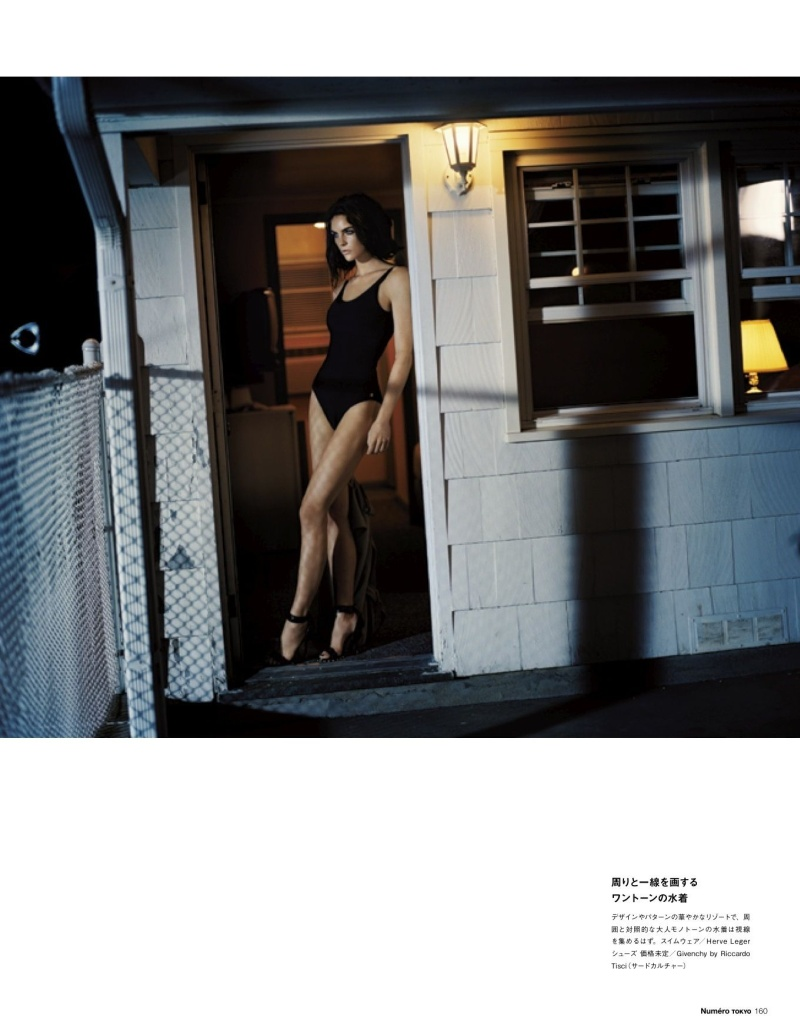 HilaryNumero11 Hilary Rhoda Poses for Vincent Peters in Numéro Tokyos January/February Issue