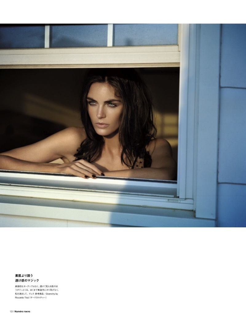 HilaryNumero2 Hilary Rhoda Poses for Vincent Peters in Numéro Tokyos January/February Issue
