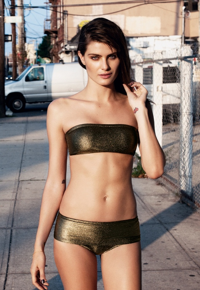 IsabeliResort7 Isabeli Fontana Models Resort Swimwear for Bergdorf Goodman