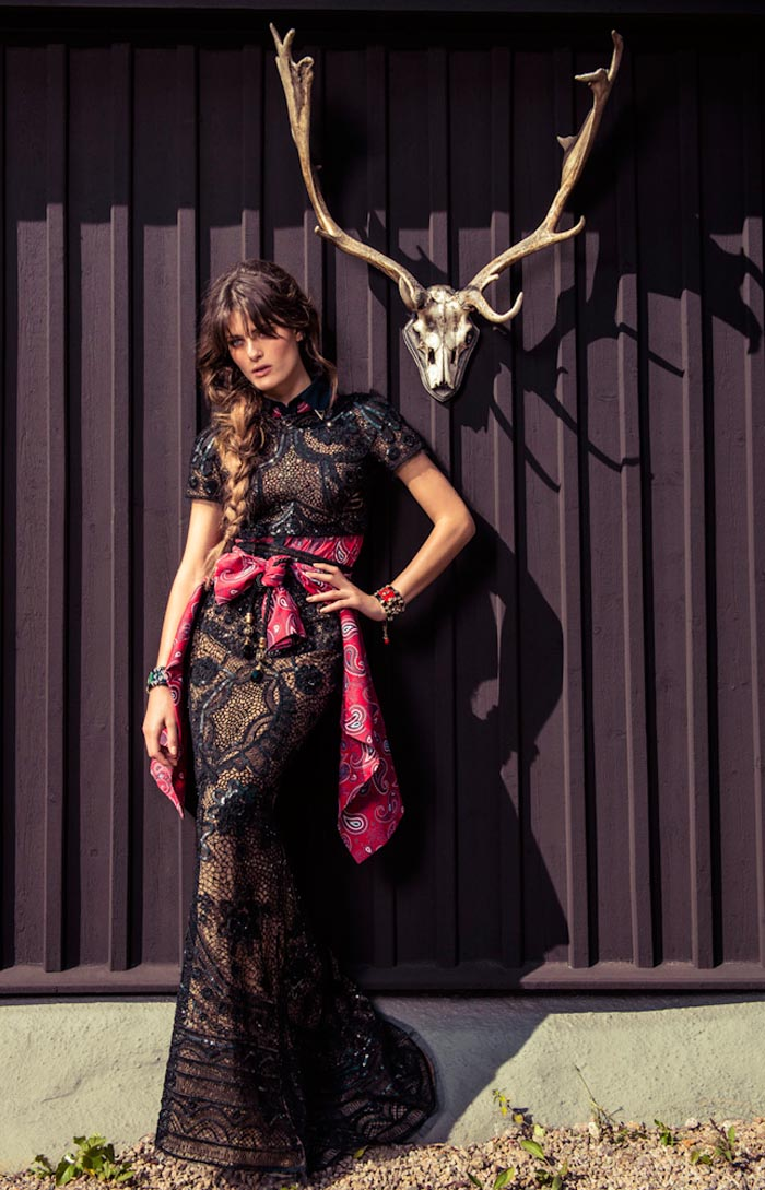 Isabeli Fontana Wows in Colorful Fashion for Vogue Brazil