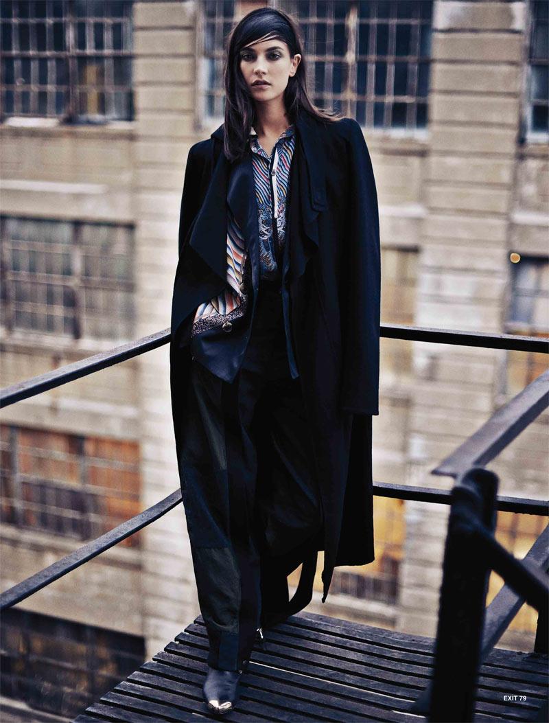 JacquelynExit7 Jacquelyn Jablonski Dons Sleek Style for Exit Magazine F/W 2012