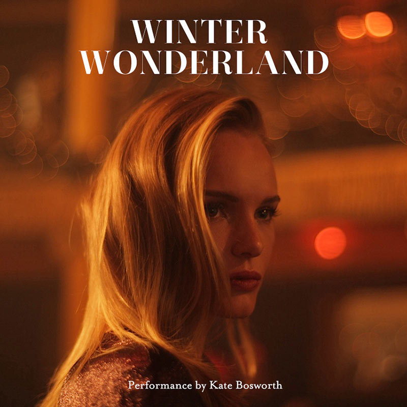 KB Album image text Kate Bosworth Sings in Topshops Winter Wonderland Film