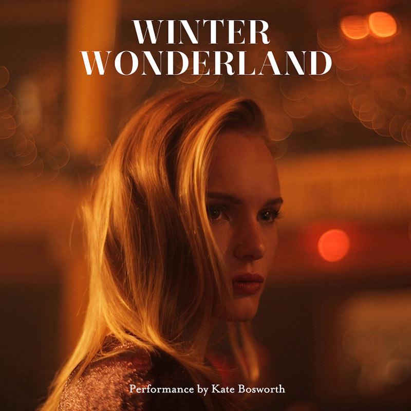 """Kate Bosworth Sings in Topshop's """"Winter Wonderland"""" Film"""