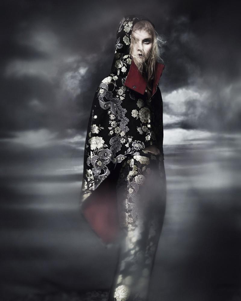 Kamila Flipcikova Takes on Embellished Style for How to Spend It Magazine