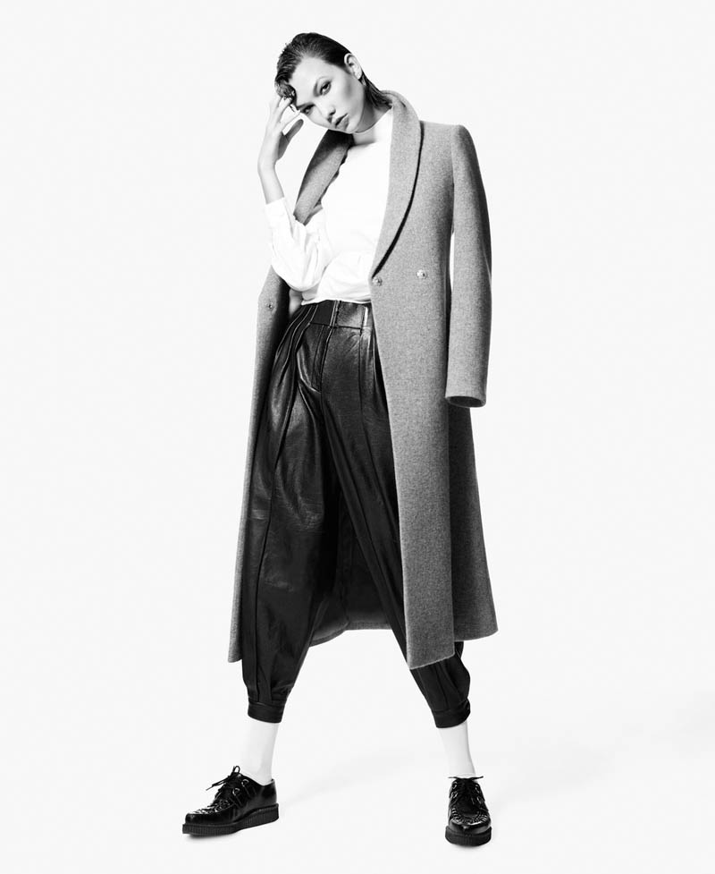 Karlie Kloss Gets Androgynous for M le Monde's December Cover Story by Daniel Sannwald
