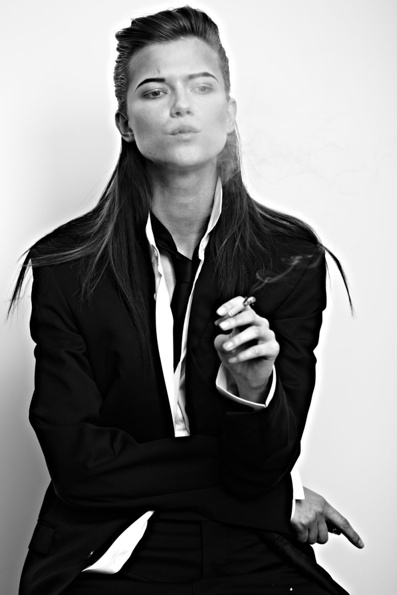 KasiaExit2 Kasia Struss Sports Menswear Looks for Hugh Lippe in Exit Magazine F/W 2012