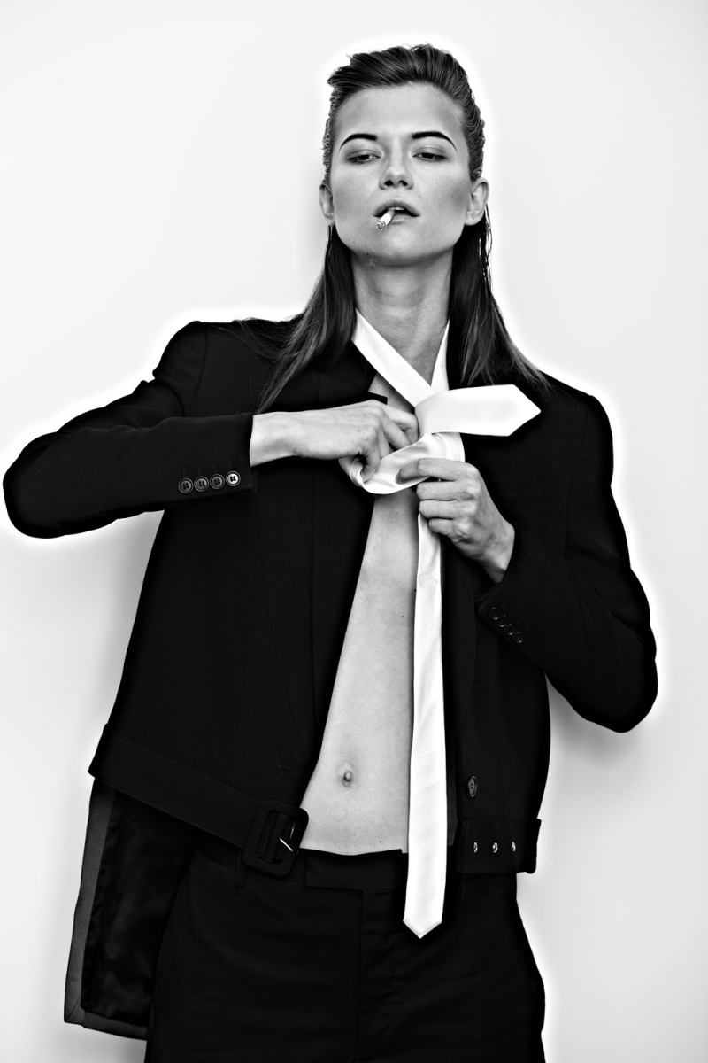 KasiaExit3 Kasia Struss Sports Menswear Looks for Hugh Lippe in Exit Magazine F/W 2012