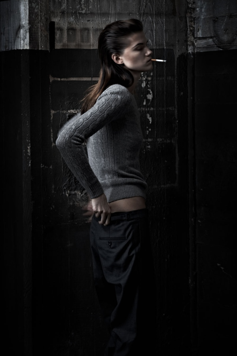 KasiaExit5 Kasia Struss Sports Menswear Looks for Hugh Lippe in Exit Magazine F/W 2012