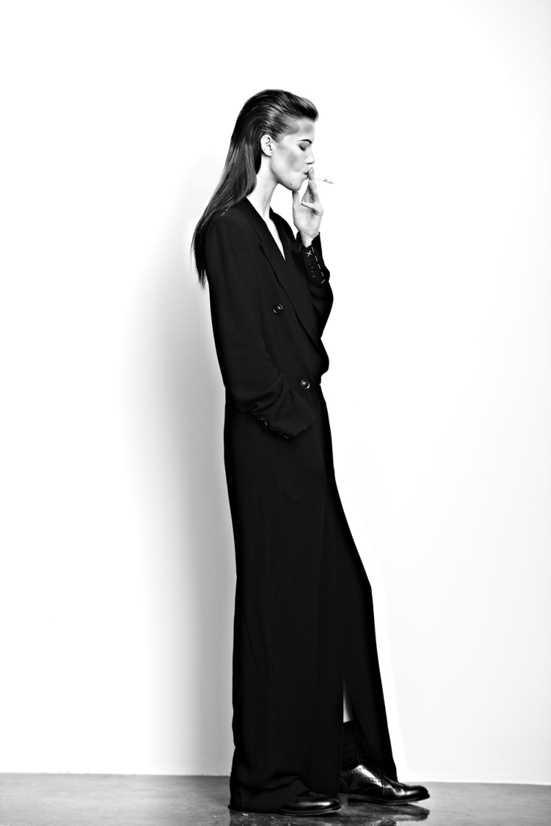 KasiaExit6 Kasia Struss Sports Menswear Looks for Hugh Lippe in Exit Magazine F/W 2012