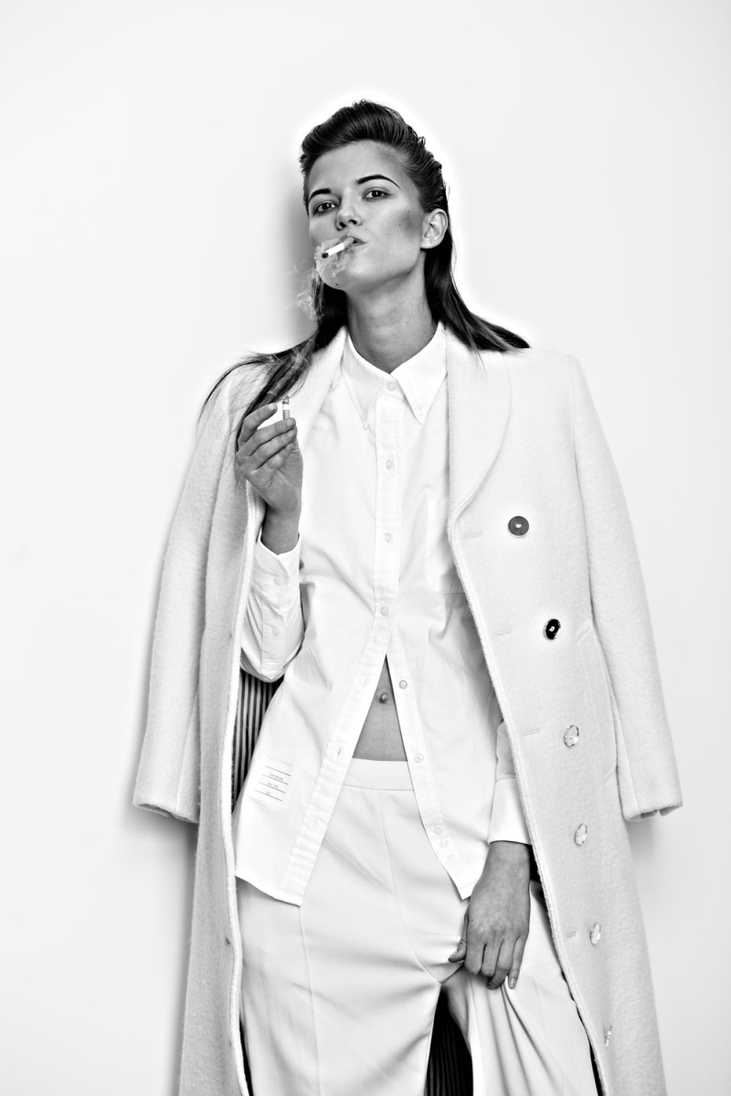 KasiaExit7 Kasia Struss Sports Menswear Looks for Hugh Lippe in Exit Magazine F/W 2012