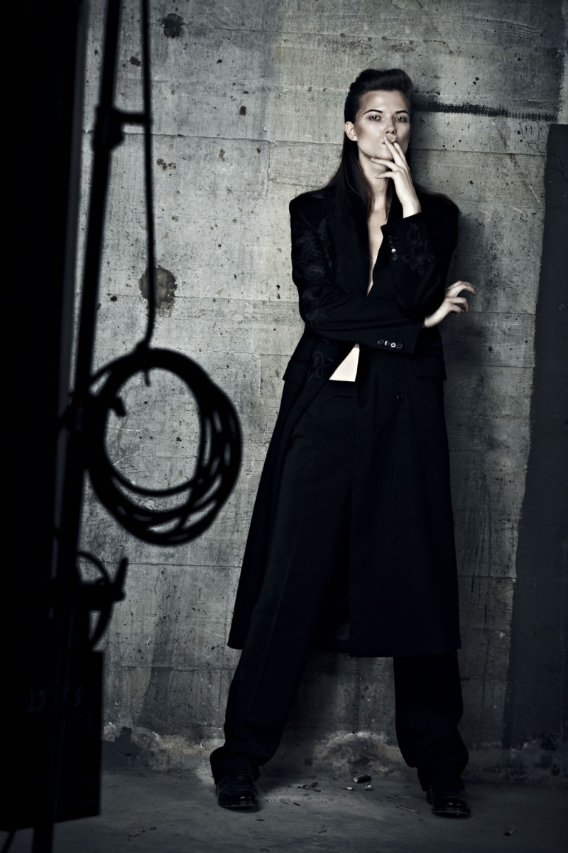 KasiaExit9 Kasia Struss Sports Menswear Looks for Hugh Lippe in Exit Magazine F/W 2012