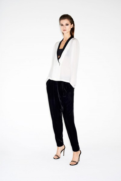Kasia Struss is Party Ready for Zara's Twelve Holiday 2012 Lookbook