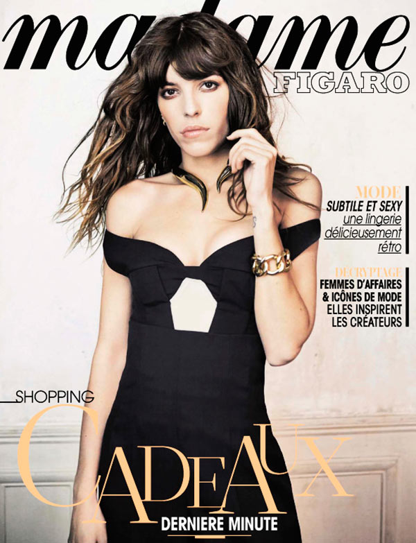 LOU FIGARO MADAME01 Lou Doillon Poses for Nicolas Guérin in Madame Figaro Shoot