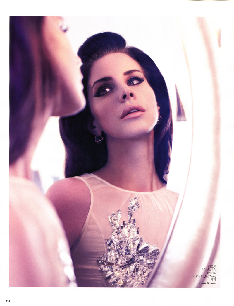 Lana Del Rey Enchants For Vogue China January 2013 By Wee Khim Fashion Gone Rogue
