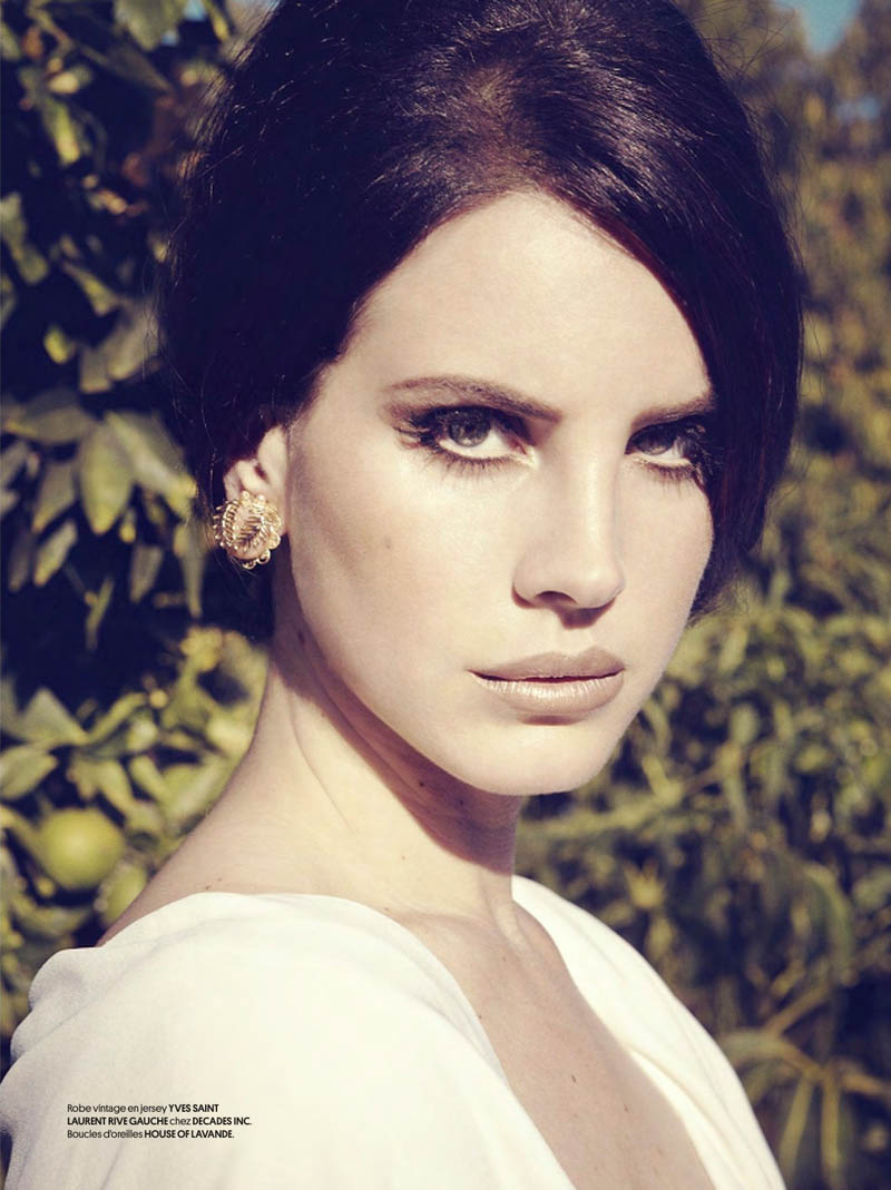 LanaObsession2 Lana Del Rey Dons Retro Chic for the Cover Story of Obsession Magazine #7