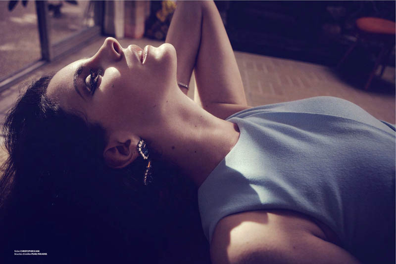 LanaObsession3 Lana Del Rey Dons Retro Chic for the Cover Story of Obsession Magazine #7