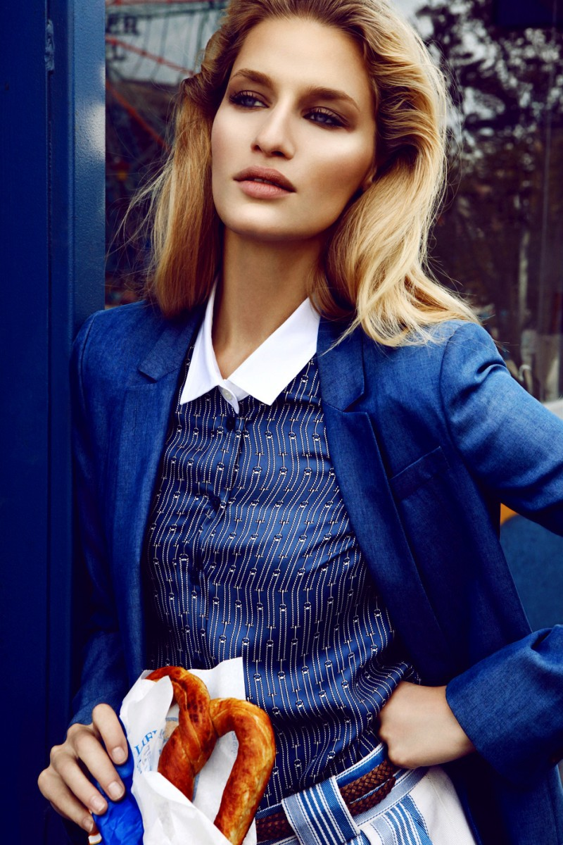 LindaElle6 Linda Vojtova Sports Gucci for Elle Czech December 2012 by Branislav Simoncik