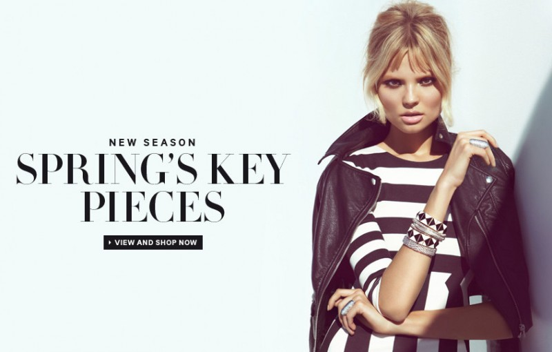 MagdalenaHM1 800x510 Magdalena Frackowiak Sports Springs Key Pieces for H&M