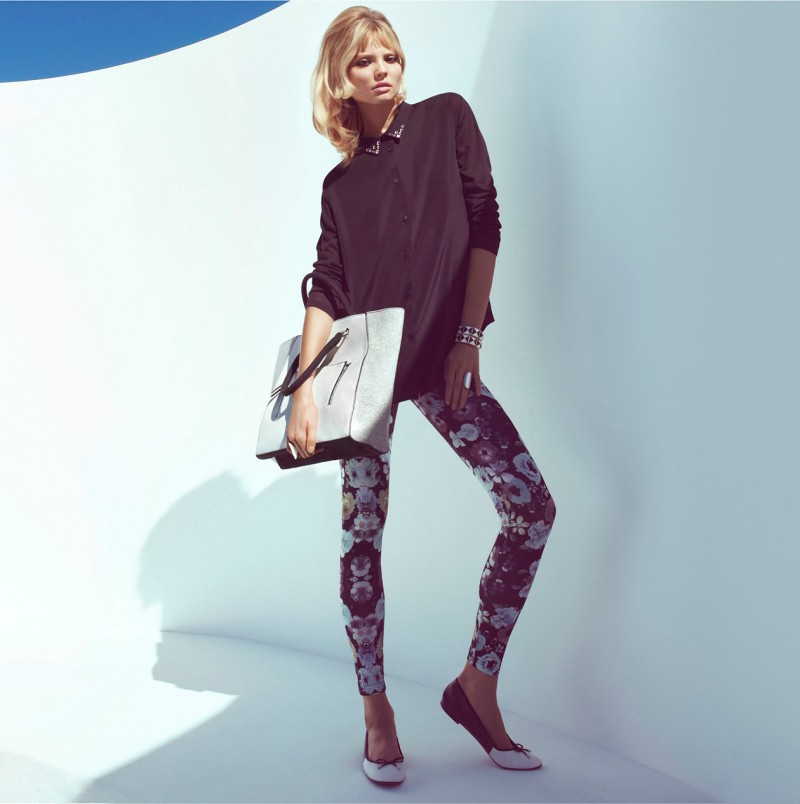 MagdalenaHM9 800x804 Magdalena Frackowiak Sports Springs Key Pieces for H&M