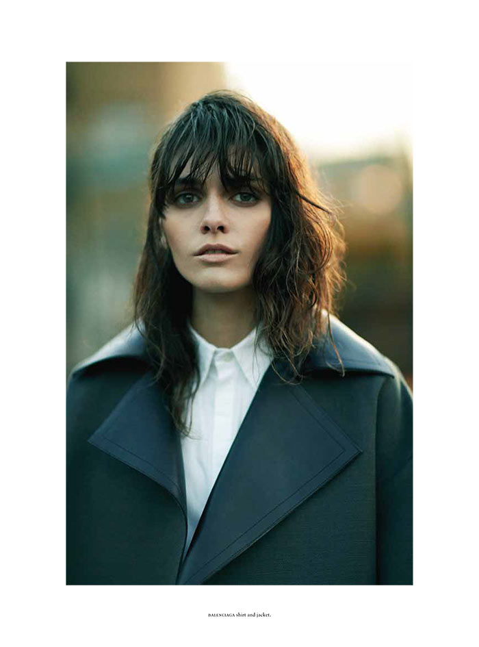 MelissaRussh10 Melissa Stasiuk Dons Menswear Inspired Style for Russh December/January