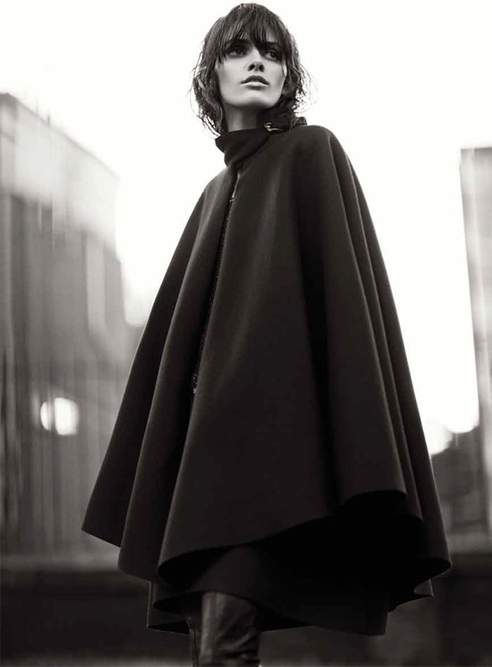 MelissaRussh7 Melissa Stasiuk Dons Menswear Inspired Style for Russh December/January