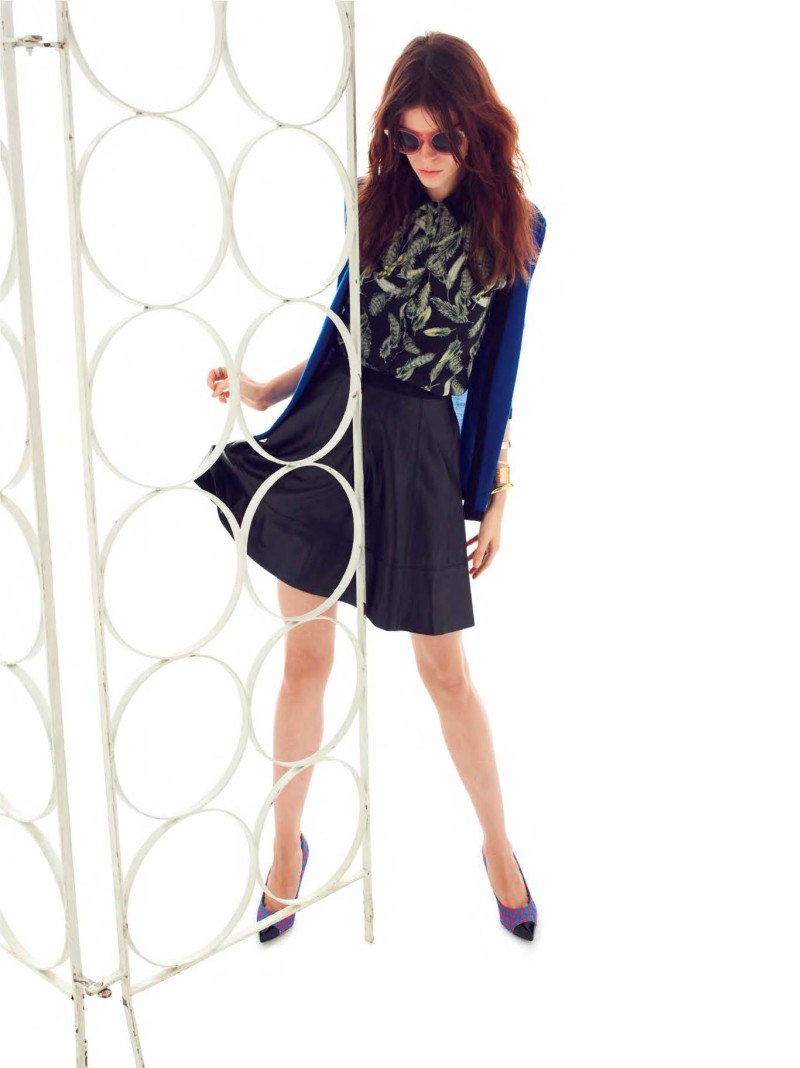 MissWu15 Miss Wu by Jason Wu Taps Meghan Collison for its Spring/Summer 2013 Lookbook