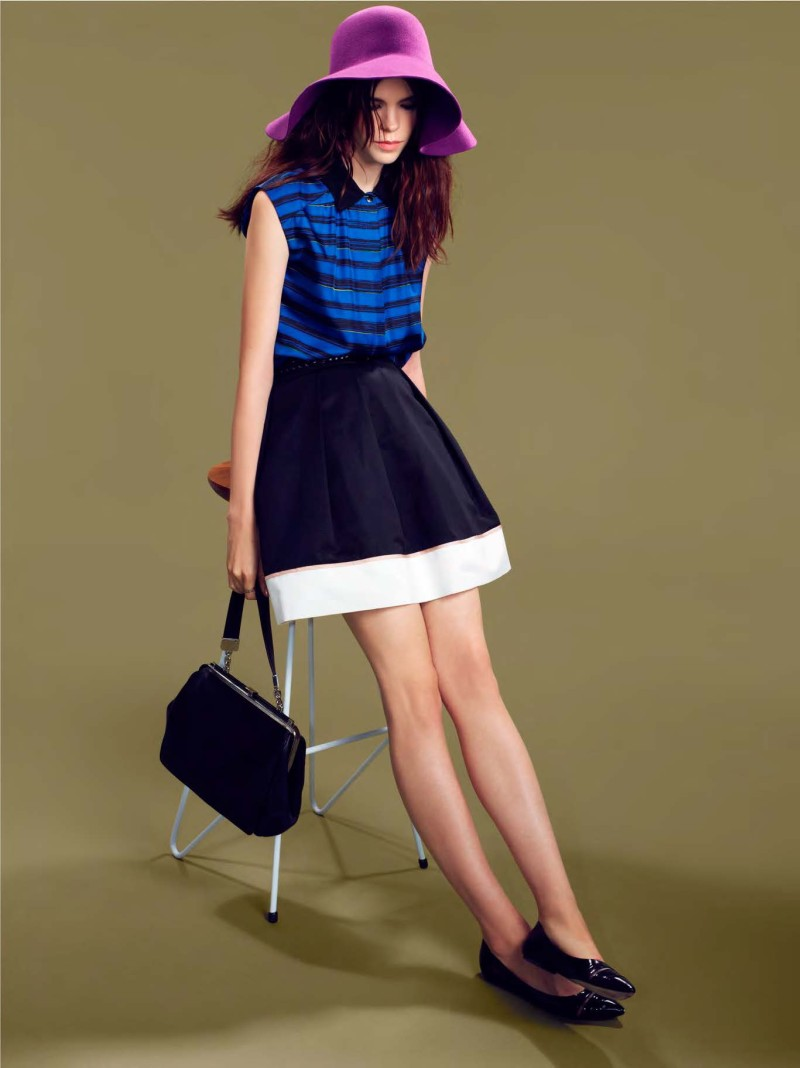 MissWu7 Miss Wu by Jason Wu Taps Meghan Collison for its Spring/Summer 2013 Lookbook