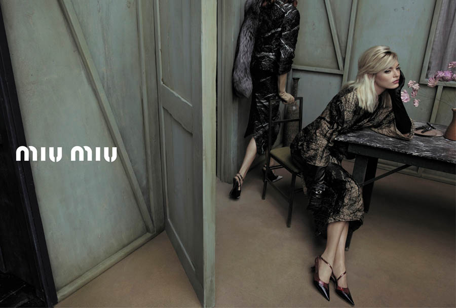 MiuMiuSpring10 Doutzen Kroes, Adriana Lima, Bette Franke, Malgosia Bela and Others Front the Miu Miu Spring 2013 Campaign by Inez & Vinoodh