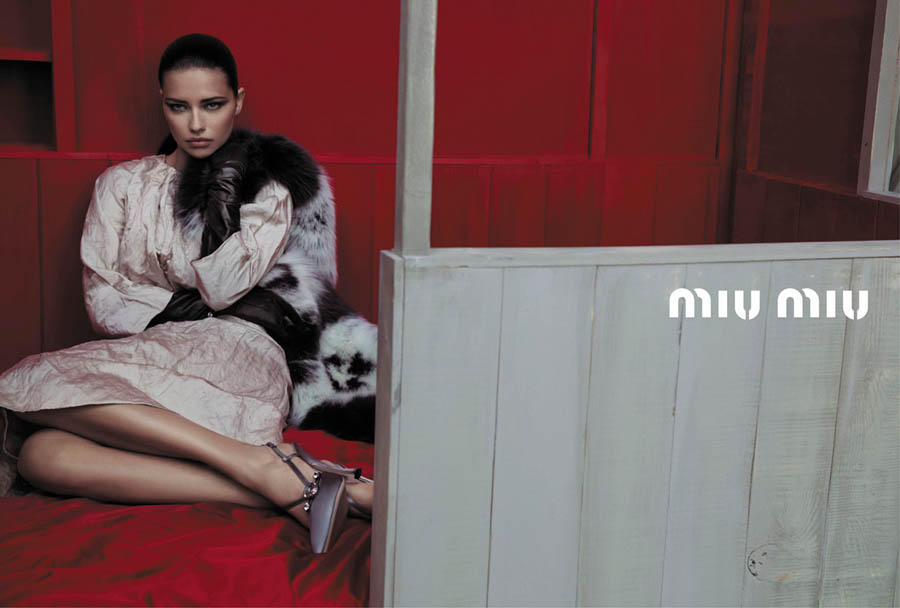 MiuMiuSpring13 Doutzen Kroes, Adriana Lima, Bette Franke, Malgosia Bela and Others Front the Miu Miu Spring 2013 Campaign by Inez & Vinoodh