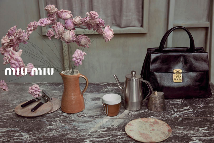 MiuMiuSpring16 Doutzen Kroes, Adriana Lima, Bette Franke, Malgosia Bela and Others Front the Miu Miu Spring 2013 Campaign by Inez & Vinoodh