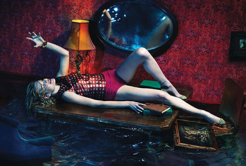 NataliaMM2 Natalia Vodianova is Sleepless for W Magazine December 2012 by Mert & Marcus