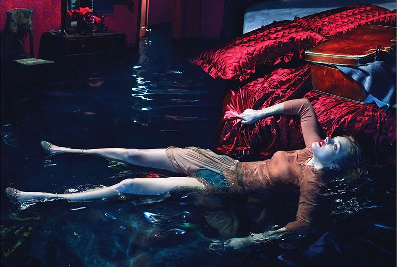 Natalia Vodianova is Sleepless for W Magazine December 2012 by Mert & Marcus