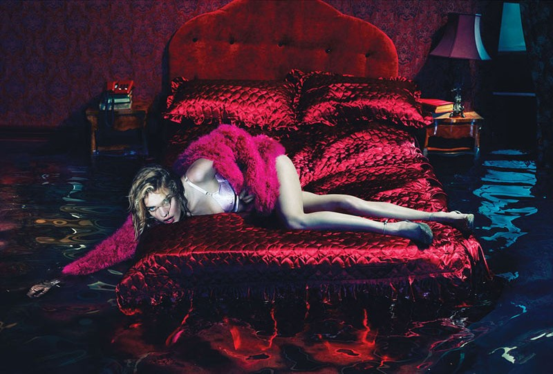 Natalia Vodianova is Sleepless for W Magazine December 2012 by Mert & Marcus