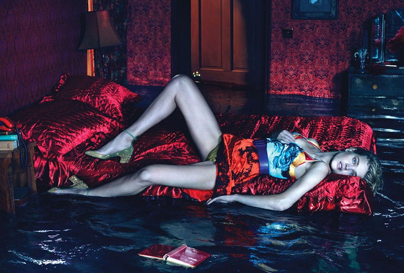 NataliaMM5 Natalia Vodianova is Sleepless for W Magazine December 2012 by Mert & Marcus