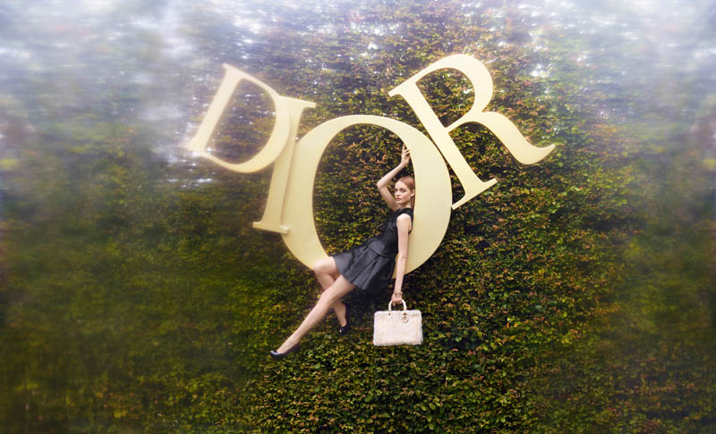 "Nimue Smit Enchants in Dior's ""An Exceptional Christmas"" by Koto Bolofo"