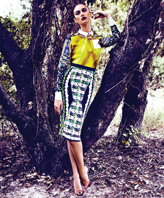 Olga Kurylenko Shines in BlackBook's December/January Cover Shoot