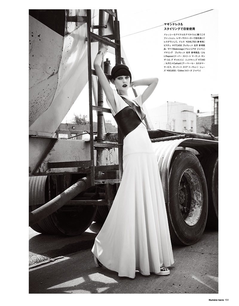 PatriciaNumero4 Patricia van der Vliet Dons Eclectic Style for Numéro Tokyo January/February 2013 by Sofia & Mauro