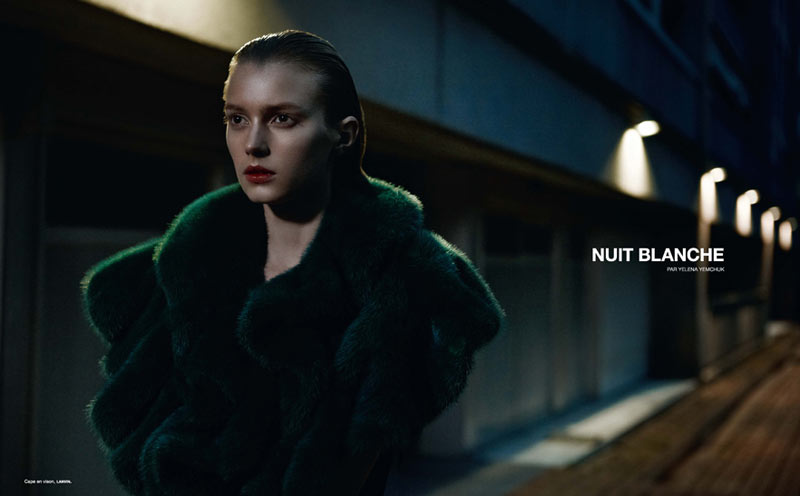 SigridNumero1 Sigrid Agren is Simply Stunning in Numéro #139 by Yelena Yemchuk